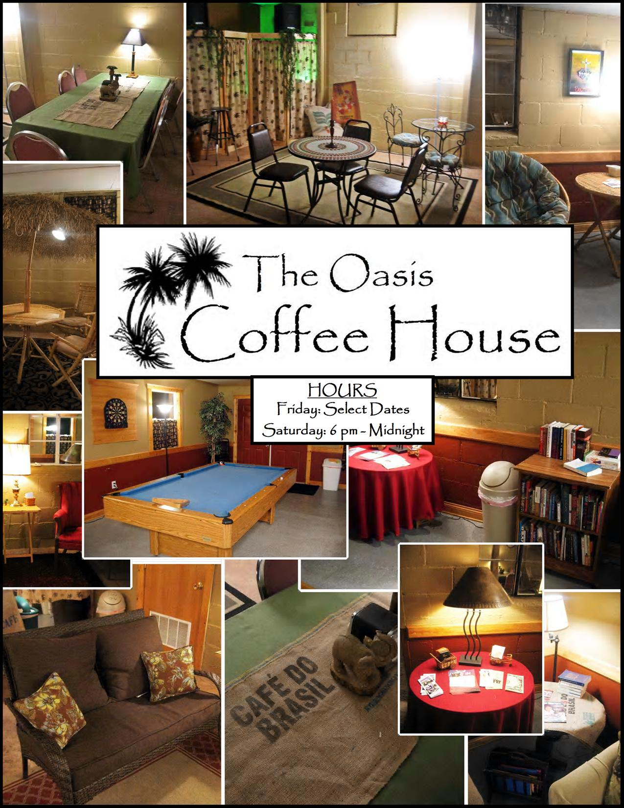 The Oasis Coffehouse, 86858 Hwy 57, Belden, NE, 68717, United States